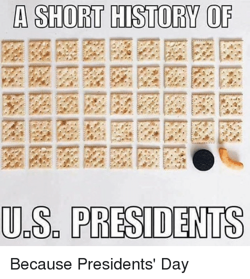 Memes, History, and Presidents: A SHORT HISTORY OF  UDS PRESIDENTS Because Presidents' Day