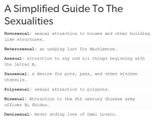 Sexual attraction and love