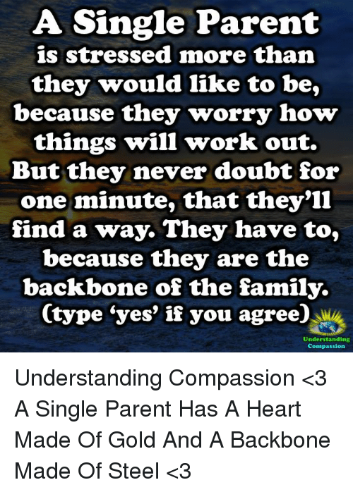 A single parent is stressed more than they would like to be because family memes and parents a single parent is stressed more than they would ccuart