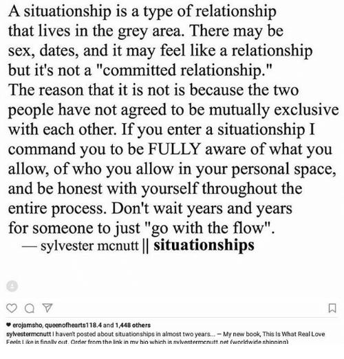 Are you love relationship or situationship