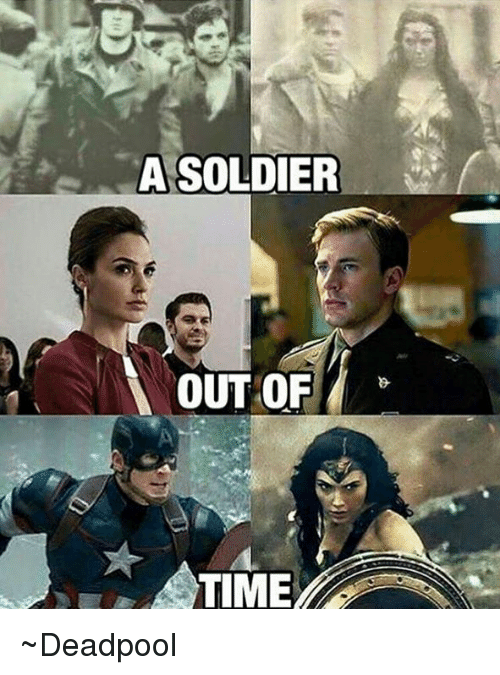 Soldiers and Avengers: A SOLDIER  OUT OF ~Deadpool