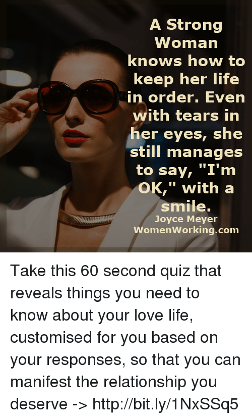 Are you a strong woman quiz