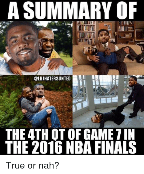 25+ Best Memes About 2016 Nba Finals