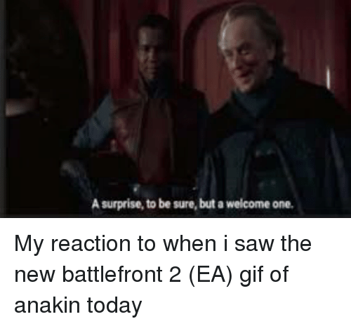 Gif, Saw, and Today: A surprise, to be sure, but a welcome one.
