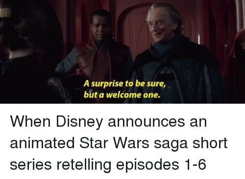 A Surprise To Be Sure But Welcome One