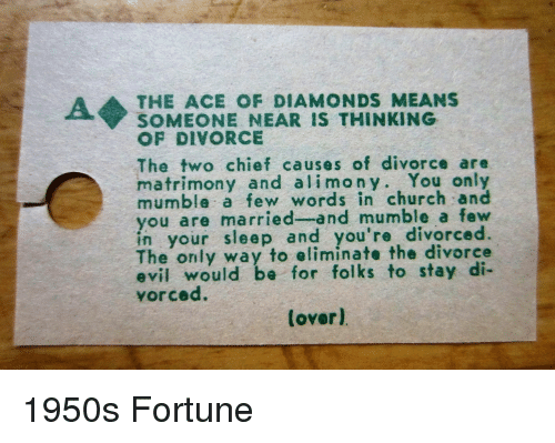 A THE ACE OF DIAMONDS MEANS SOMEONE NEAR IS THINKING OF