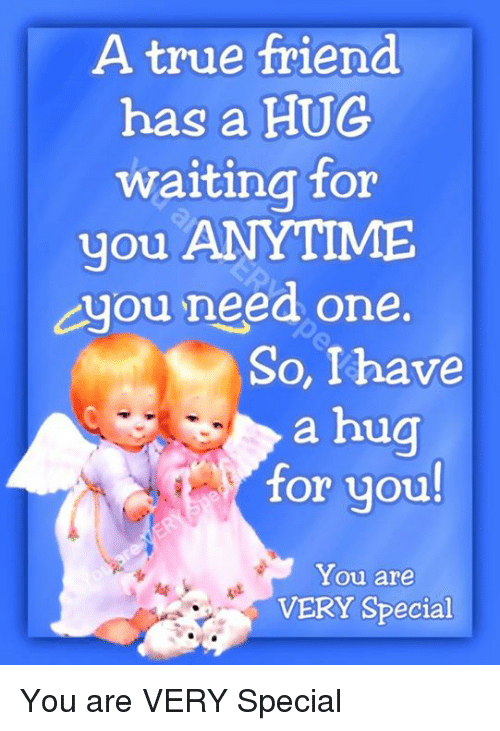 Hug for a special friend