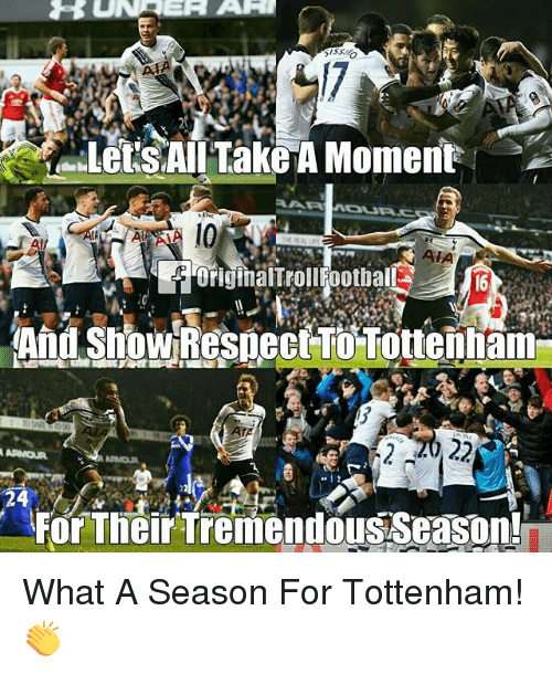 Memes, 🤖, and Art: a UN RER ART  KANE  AIA  originairrollfootball  2022  24  For Their Tremendous Season! What A Season For Tottenham! 👏