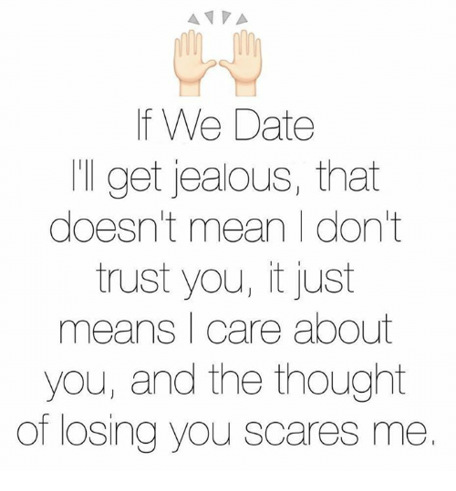 the idea of dating scares me