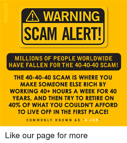 A WARNING SCAM ALERT! MILLIONS OF PEOPLE WORLDWIDE HAVE