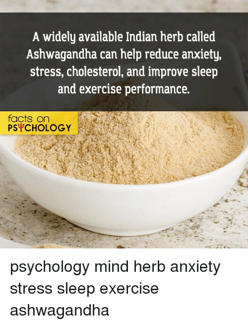 A Widely Available Indian Herb Called Ashwagandha Can Help Reduce