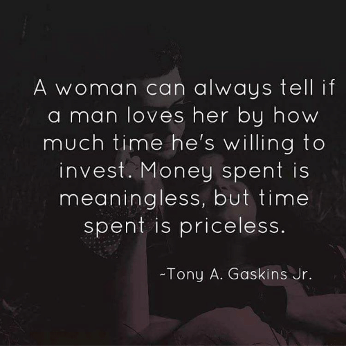Signs a man loves a woman