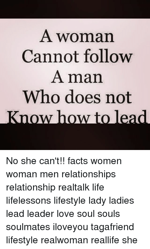 How to lead women