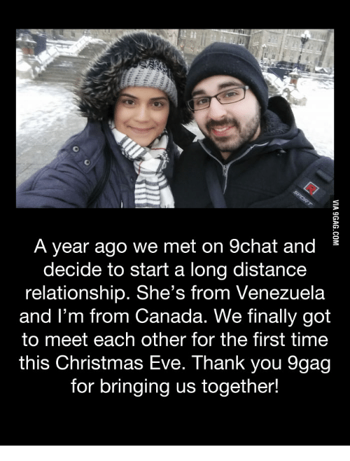 Starting a long distance relationship with someone you just met