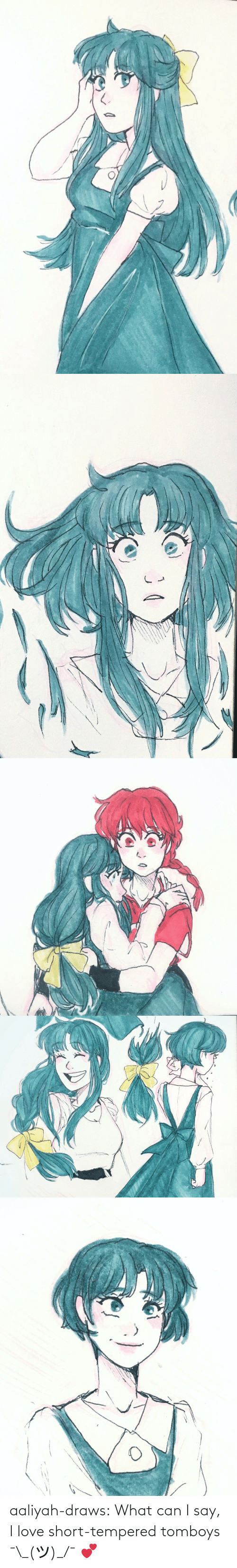 Love, Target, and Tumblr: aaliyah-draws:  What can I say, I love short-tempered tomboys  ¯\_(ツ)_/¯ 💕