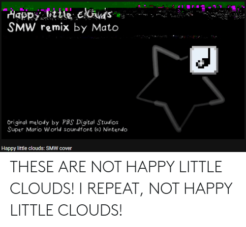 Aappy Little Eks SMW Remix by Mato Anit Original Melody by