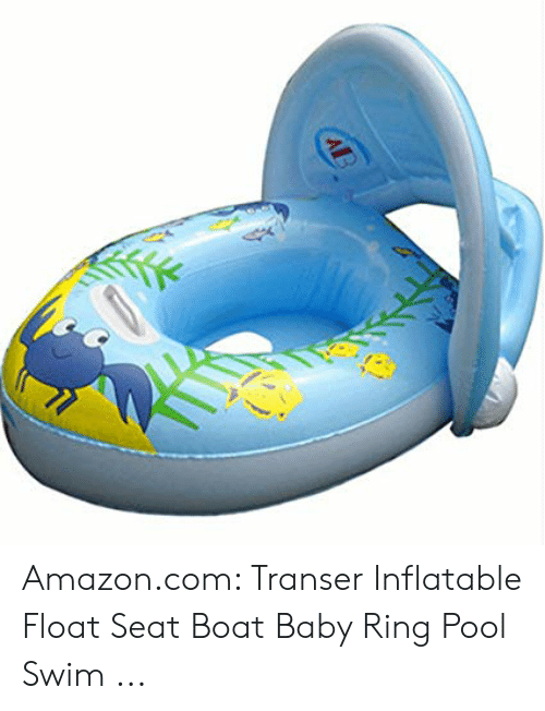 AB Amazoncom Transer Inflatable Float Seat Boat Baby Ring