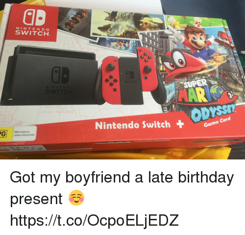 25 best memes about nintendo switch nintendo switch memes for Where should i take my boyfriend for his birthday