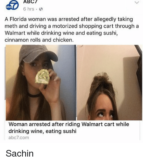 ABC 6 Hrs E Abc a Florida Woman Was Arrested After Allegedly