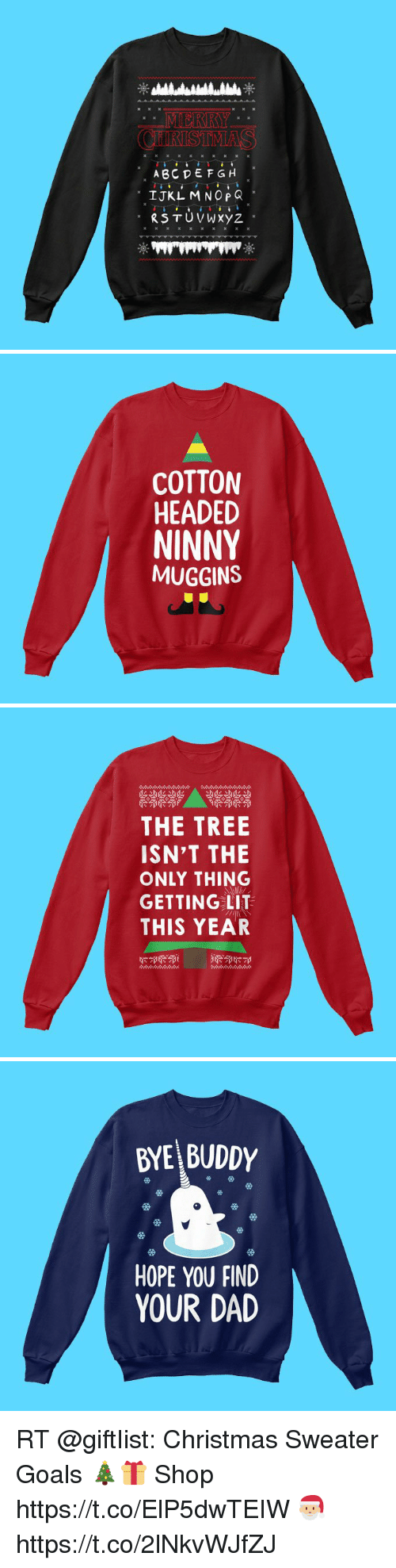 ABC DEFGH IJKL MNOP Q Ax COTTON HEADED NINNY MUGGINS THE TREE ISN\'T ...