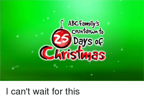 Abc Countdown And Family ABC S To Days Of I Can