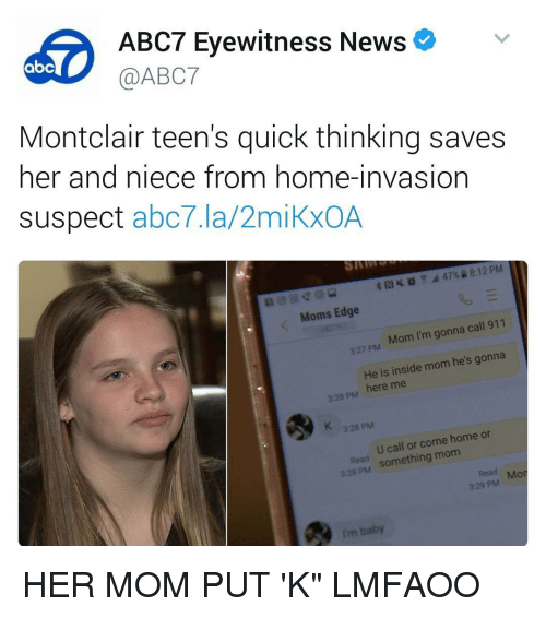 Abc Memes And Abc7 ABC7 Eyewitness News AbC Montclair Teens Quick