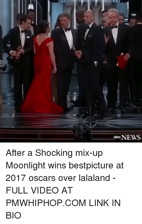Memes, Moonlight, and 🤖: abcNEWS After a Shocking mix-up Moonlight wins bestpicture at 2017 oscars over lalaland - FULL VIDEO AT PMWHIPHOP.COM LINK IN BIO