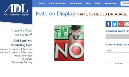Jew Detector: About Your Local ADL Take Action Blog Video Newsroom DONAT