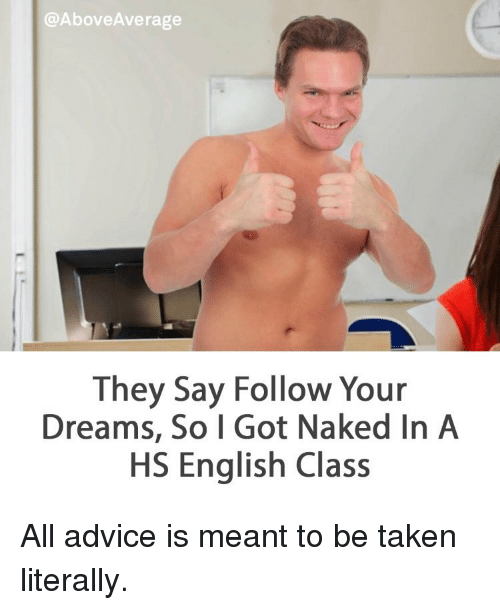 Got naked they