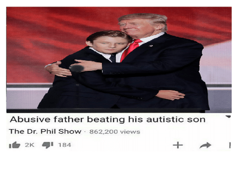 Abusive Father Beating His Autistic Son the Dr Phil Show