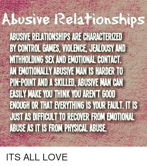 how to stop being emotionally abusive in a relationship