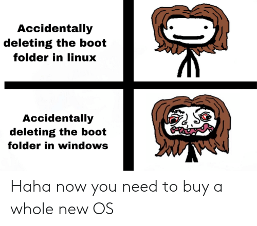 Accidentally Deleting the Boot Folder in Linux Accidentally