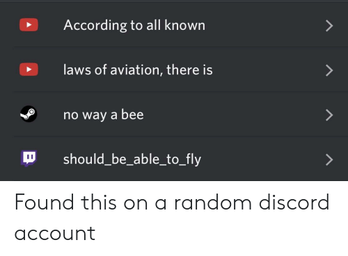 According to All Known Laws of Aviation There Is No Way a Bee