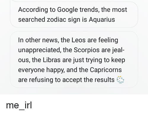 47218ee0ec69 According to Google Trends the Most Searched Zodiac Sign Is Aquarius ...
