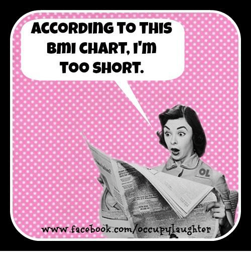 According To This Bmi Chart Im Too Short