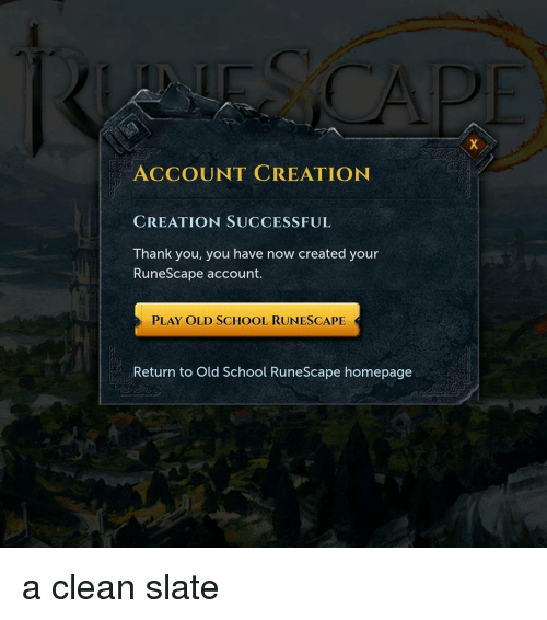 Search RuneScape Memes on SIZZLE