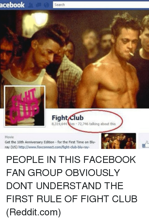 Excited fight club