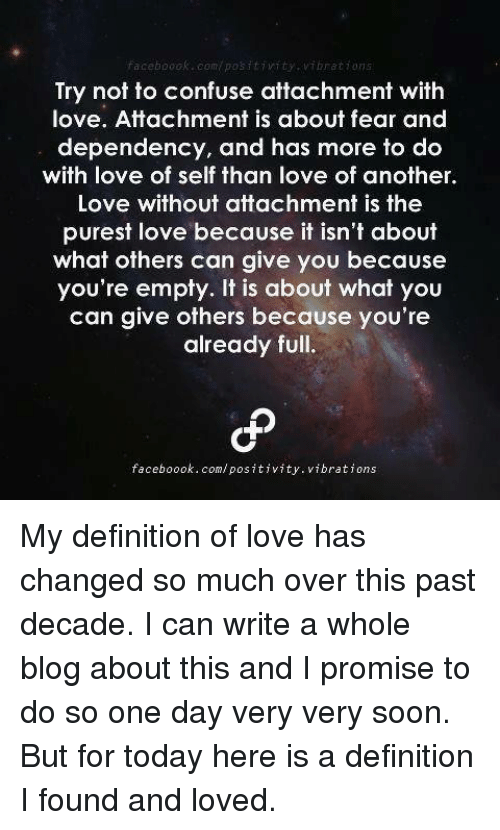 Empty love definition