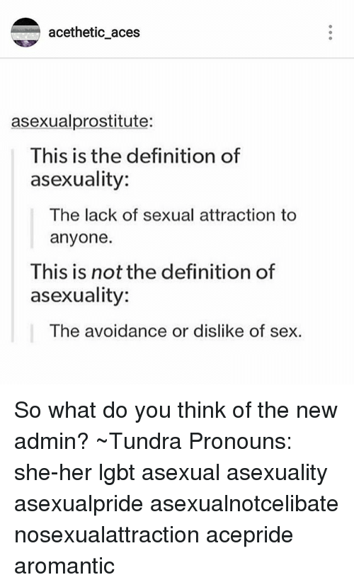 Sexual attraction definition