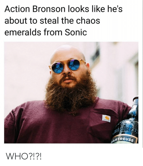 Action Bronson Looks Like Hes About To Steal The Chaos Emeralds