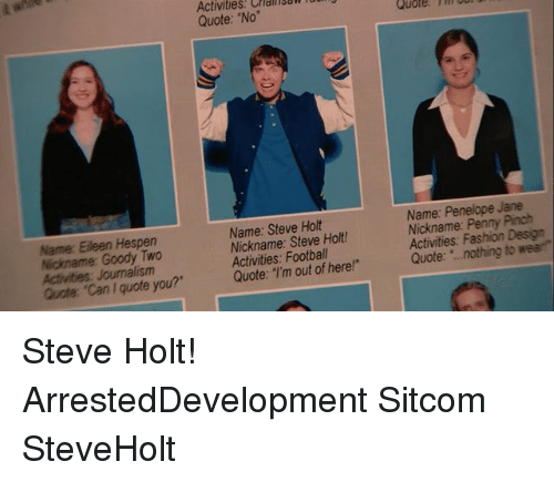 Can I Get A Quote On Uber: 25+ Best Memes About Steve Holt