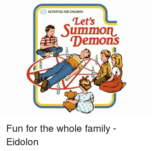 Activities For Children Lets Ummon Demons Fun For The Whole Family