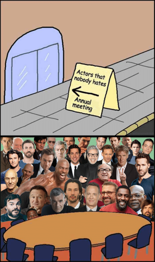 Memes, 🤖, and Actors: Actors that  nobody hates  Annual  meeting  1
