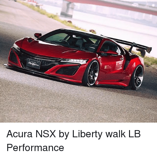 Acura NSX By Liberty Walk LB Performance