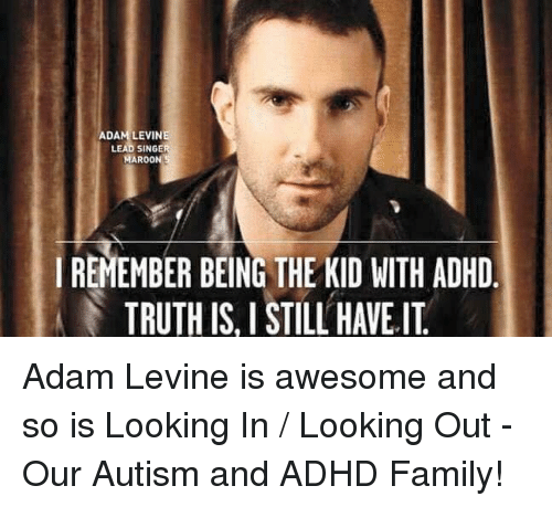 ADAM LEVINE LEAD SINGER MAROON 5 I REMEMBER BEING THE KID
