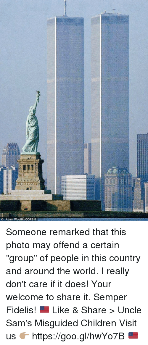 """Children, World, and Photos: Adam WooltituCORBIS Someone remarked that this photo may offend a certain """"group"""" of people in this country and around the world. I really don't care if it does! Your welcome to share it. Semper Fidelis! 🇺🇸  Like & Share > Uncle Sam's Misguided Children  Visit us 👉🏽 https://goo.gl/hwYo7B 🇺🇸"""