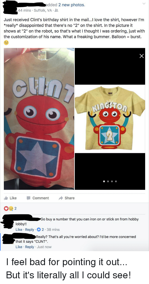 Cunt on a stick