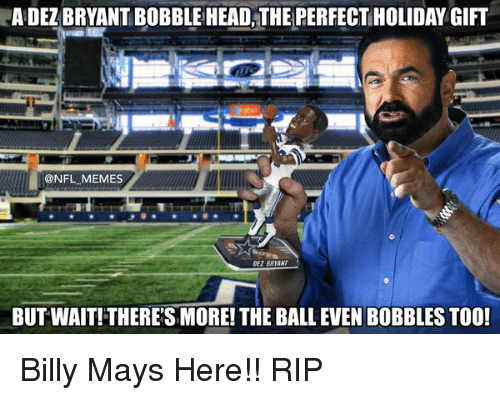 adel bryant bobblehead the perfect holiday gift nfl memes dezbatant 11194169 ✅ 25 best memes about billy mays here billy mays here memes