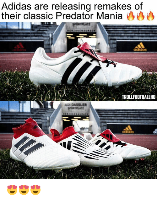 a9451a79f30b Adidas Are Releasing Remakes of Their Classic Predator Mania ...