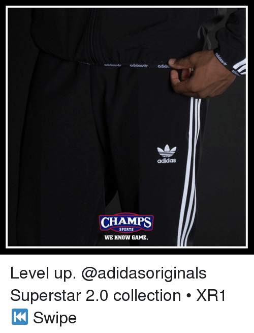 8f7065e722f73b Adidas CHAMPS SPORTS WE KNOW GAME ㄓ Level Up Superstar 20 ...